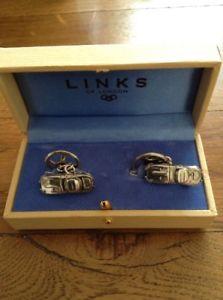 【送料無料】メンズアクセサリ― タイプジャガーロンドンカフリンクスリンクsterling silver e type jaguar cufflinks by links of london stunning