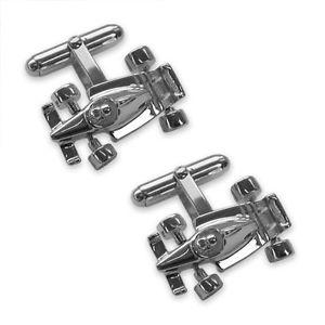 【送料無料】メンズアクセサリ― レーシングカーカフリンクスsterling silver f1 racing car cufflinks rrp 63