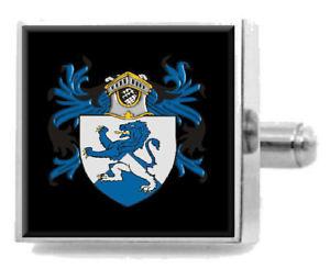 【送料無料】メンズアクセサリ― イングランドカフスボタンメッセージボックスgiles england heraldry crest sterling silver cufflinks engraved message box