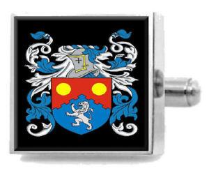 【送料無料】メンズアクセサリ― イングランドカフスボタンメッセージボックスsutch england heraldry crest sterling silver cufflinks engraved message box
