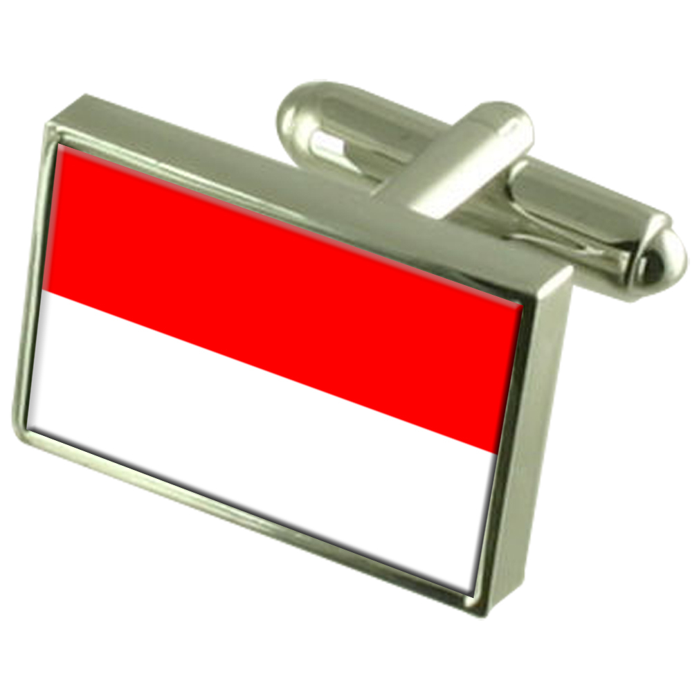 【送料無料】メンズアクセサリ― ウィーンオーストリアスターリングシルバーフラグカフスボタンボックスvienna austria sterling silver flag cufflinks engraved box