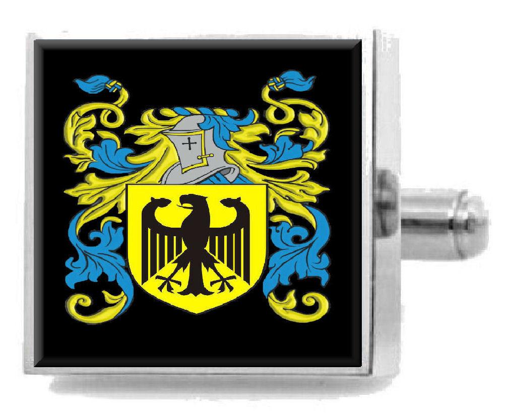 【送料無料】メンズアクセサリ― スコットランドカフスボタンメッセージボックスlandrum scotland heraldry crest sterling silver cufflinks engraved message box