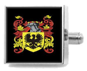 【送料無料】メンズアクセサリ― アイルランドカフスボタンボックスlafferty ireland heraldry crest sterling silver cufflinks engraved box
