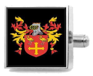 【送料無料】メンズアクセサリ― イギリスカフスボタンボックスkerruish england heraldry crest sterling silver cufflinks engraved box