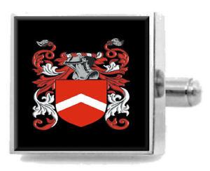 【送料無料】メンズアクセサリ― イギリスカフスボタンメッセージボックスfowkes england heraldry crest sterling silver cufflinks engraved message box
