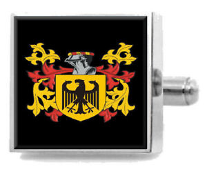 【送料無料】メンズアクセサリ― アイルランドカフスボタンボックスfindlater ireland heraldry crest sterling silver cufflinks engraved box