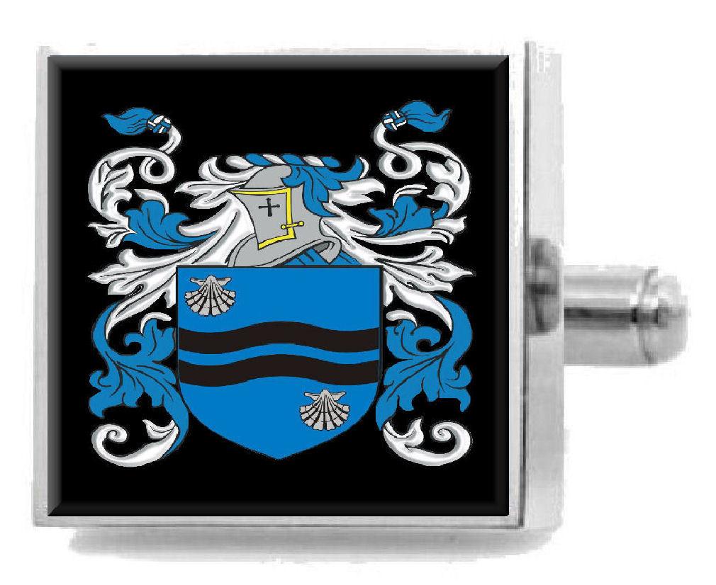 【送料無料】メンズアクセサリ― アイルランドカフスボタンボックスmcardell ireland heraldry crest sterling silver cufflinks engraved box
