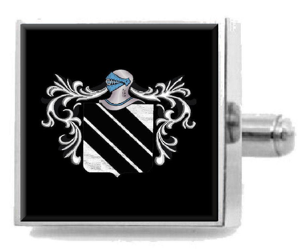 【送料無料】メンズアクセサリ― イングランドカフスボタンボックスsanderson england heraldry crest sterling silver cufflinks engraved box
