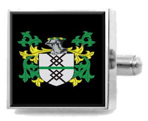 【送料無料】メンズアクセサリ― イギリスカフスボタンボックスingerham england heraldry crest sterling silver cufflinks engraved box