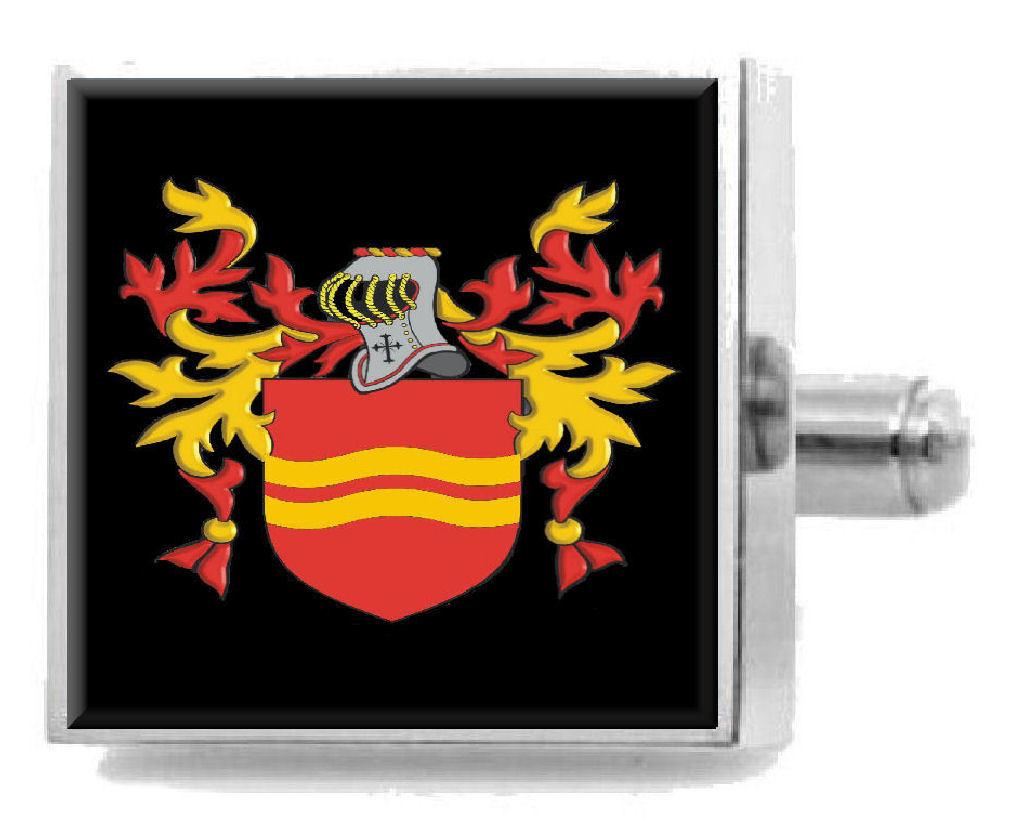 【送料無料】メンズアクセサリ― イギリスカフスボタンボックスshorthose england heraldry crest sterling silver cufflinks engraved box