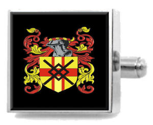 【送料無料】メンズアクセサリ― イギリスカフスボタンボックスbletcher england heraldry crest sterling silver cufflinks engraved box