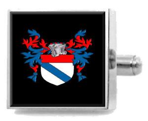 【送料無料】メンズアクセサリ― イングランドカフスボタンボックスharrington england heraldry crest sterling silver cufflinks engraved box