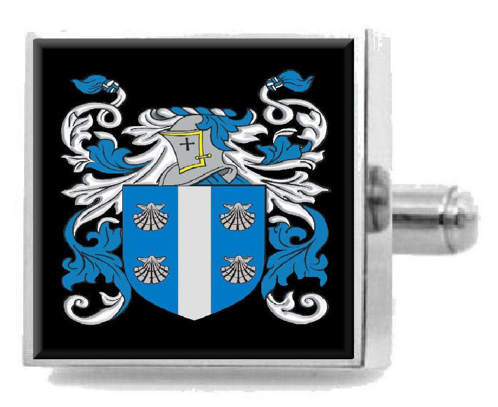 【送料無料】メンズアクセサリ― イギリスカフスボタンボックスmacbride england heraldry crest sterling silver cufflinks engraved box