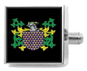 【送料無料】メンズアクセサリ― イギリスカフスボタンボックスractliffe england heraldry crest sterling silver cufflinks engraved box