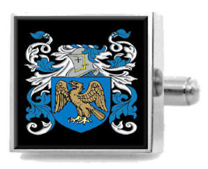 【送料無料】メンズアクセサリ― イギリスカフスボタンボックスfemister england heraldry crest sterling silver cufflinks engraved box