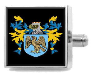 【送料無料】メンズアクセサリ― イギリスカフスボタンボックスibbotson england heraldry crest sterling silver cufflinks engraved box