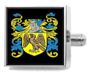 【送料無料】メンズアクセサリ― イギリスカフスボタンボックスilderton england heraldry crest sterling silver cufflinks engraved box