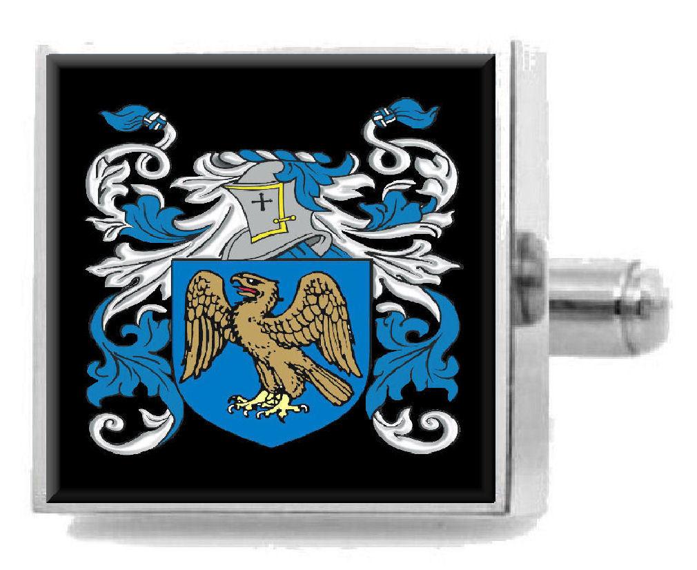 【送料無料】メンズアクセサリ― イギリスカフスボタンボックスmoberley england heraldry crest sterling silver cufflinks engraved box