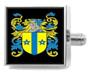 【送料無料】メンズアクセサリ― hollinghurstスターリングカフスリンクhollinghurst england heraldry crest sterling silver cufflinks engraved box