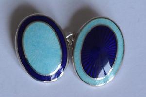 【送料無料】メンズアクセサリ― オパールエナメルカフリンクスaspinal navy and opal enamel cufflinks
