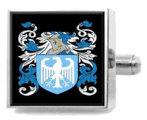 【送料無料】メンズアクセサリ― スコットランドカフスボタンボックスfeemster scotland heraldry crest sterling silver cufflinks engraved box
