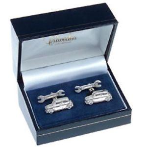【送料無料】メンズアクセサリ― ミニソリッドスターリングシルバーカフリンクスmini solid sterling silver cufflinks