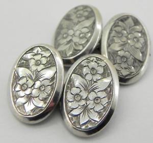 【送料無料】メンズアクセサリ― ビクトリアソリッドシルバーカフリンクスバーミンガムvictorian solid silver cufflinks, birmingham 1899, by rjt