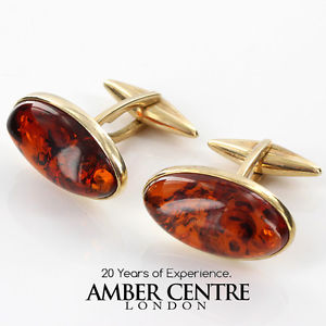 solid amber rrp395 イタリアソリッドゴールド¥バルトカフスボタンitalian cufflinks baltic gf0016 in gold 【送料無料】メンズアクセサリ― made 9ct