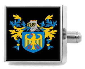 【送料無料】メンズアクセサリ― スコットランドカフスボタンボックスmcniven scotland heraldry crest sterling silver cufflinks engraved box