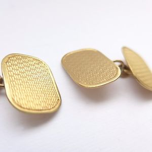 【送料無料】メンズアクセサリ― アンティークソリッドゴールドアートボックスアールデコカフスボタンantique 9ct solid gold art deco cufflinks with box wedding groom c1930s