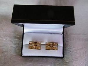 【送料無料】メンズアクセサリ― kゴールドカフリンクス9ct 9k gold abacus cufflinks
