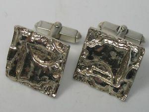 【送料無料】メンズアクセサリ― トップビンテージモダニストデザイナーカフスボタンシルバーtheodor fahrner top vintage modernist designer cufflinks from 925 silver