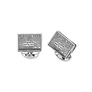 【送料無料】メンズアクセサリ― ディーキンフランシススターリングシルバービジネスニュースカフリンクスdeakin and francis sterling silver business s cufflinks