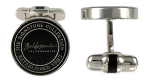 送料無料 メンズアクセサリ― スターリングシルバーメンズデザイナーカフスボタンbaldessarini sterling silver 保証 cufflinks y2011c9000 designer mens 公式サイト
