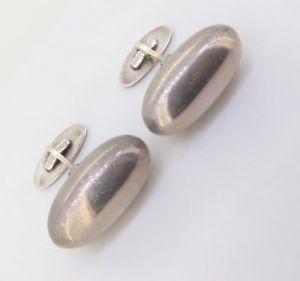 【送料無料】メンズアクセサリ― ビンテージスターリングシルバーカフリンクスvintage georg jensen 121 modernist sterling silver gentleman's cufflinks