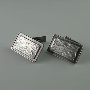 最大80%オフ! 【送料無料】メンズアクセサリ― geometric アールデコシルバービンテージカフスボタンカフスボタンart deco deco silver vintage groom modernist geometric cufflinks groom cuff links wedding, ミツセムラ:0fc3cbfd --- adaclinik.com