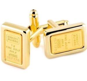 【送料無料】メンズアクセサリ― クレディスイスインゴットカフリンクスcl220 credit suisse gents ingot cufflinks