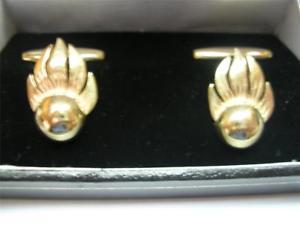 【送料無料】メンズアクセサリ― ゴールドテクニカルィサーメンズカフリンクス 9ct gold ammunition technical icer ato mens cufflinks