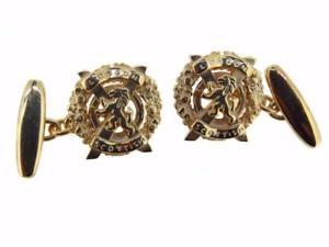 【送料無料】メンズアクセサリ― ゴールドロンドンスコットランドメンズカフスボタン 9ct gold london scottish regiment mens cufflinks made to order excellent