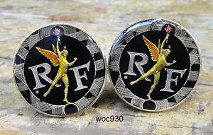 【送料無料】メンズアクセサリ― フランスコインカフスボタンフランfrance coin cufflinks 10 franc 1988 1989 1990 1991 1992