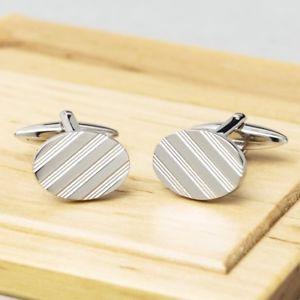 【送料無料】メンズアクセサリ― ペンブロークカフリンクスpembroke oval lined cufflinks