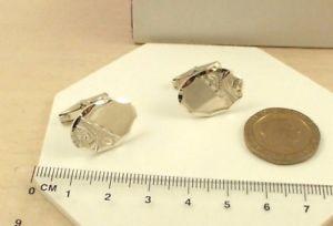 【送料無料】メンズアクセサリ― ソリッドスターリングシルバーカフリンクスcls70se2 gents heavyweight solid 925 sterling silver engraved oval cufflinks