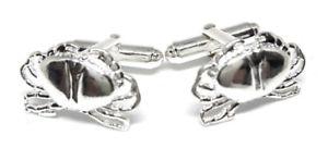 【送料無料】メンズアクセサリ― シルバーカニカフリンクスメーカーダイレクトスターリングsterling silver 925 crab cufflinks manufacturers direct pricing