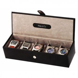 【送料無料】メンズアクセサリ― マンハッタンコレクションボックスmanhattan collection 5 watch box