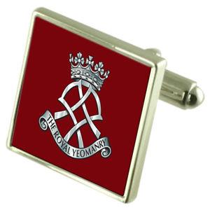 【送料無料】メンズアクセサリ― ロイヤルカフリンクスarmy the royal yeomanry cufflinks