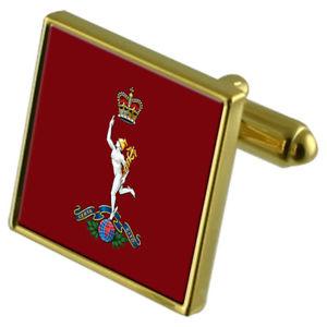 【送料無料】メンズアクセサリ― ロイヤルカフリンクスarmy royal signals goldtone cufflinks