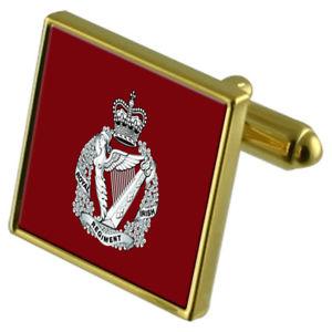 【送料無料】メンズアクセサリ― ロイヤルアイリッシュカフリンクスarmy the royal irish regiment goldtone cufflinks