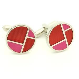【送料無料】メンズアクセサリ― cufflinksモザイクピンクcufflinks mosaic pink