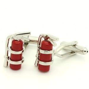 【送料無料】メンズアクセサリ― cufflinks fire extinguishercufflinks fire extinguisher