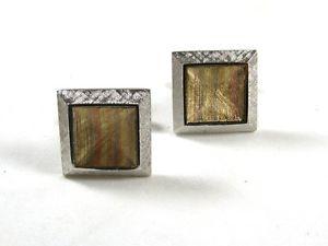 【送料無料】メンズアクセサリ― ドレッシーシルバートーンゴールドトーンカフスボタンシールドdressy silver tone amp; gold tone cufflinks by s in shield 12215